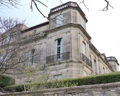 Ancien château -  Assas (Herault, France), Assas Castle; north side.