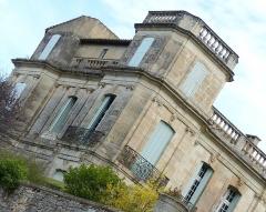 Ancien château -  Assas (Herault, France), Assas Castle; northwest corner.