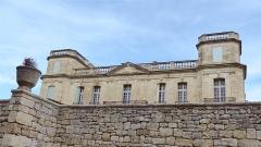 Ancien château -  Assas (Herault, France), Assas Castle; main facade facing west.