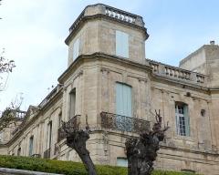 Ancien château -  Assas (Herault, France), Assas Castle; southwest corner.