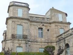 Ancien château -  Assas (Herault, France), Assas Castle; south side.