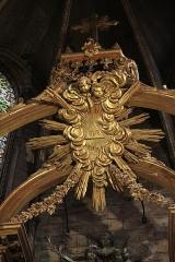 Ancienne abbaye Saint-Aphrodise - Français:   Intérieur de la Basilique Saint-Aphrodise de Béziers: Haut du Maître-autel.