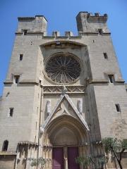 Ancienne cathédrale Saint-Nazaire et cloître Saint-Nazaire - Català: Façana principal de l'antiga catedral de Sant Nazari (Besiers)