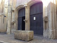 Chapelle des Pénitents Bleus - Français:   Chapelle des Penitents Bleus, Beziers. L\'extérieur