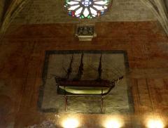 Chapelle des Pénitents Bleus - Français:   Petit bateau de 1780-1810