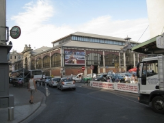 Halles centrales - English: The covered market in Béziers, France.