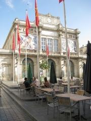 Théâtre - English:   Theatre building of Béziers.