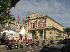 Théâtre - English:   Theatre building of Béziers, France.