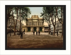 Théâtre - English:   Theatre and promenade Béziers France