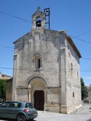 Eglise Saint-Nazaire et Saint-Celse - English: Church of Buzignargues.