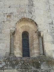 Eglise Saint-Jean-Baptiste - English: Church of Saint-Jean-Baptiste in Castelnau-le-Lez (vicinity of Montpellier, France). Apse. Main window.