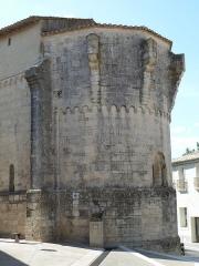 Eglise Saint-Jean-Baptiste - English: Church of Saint-Jean-Baptiste in Castelnau-le-Lez (vicinity of Montpellier, France). Apse.