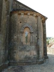 Ancienne abbaye de Fontcaude - English: Fontcaude abbey. Church. North apse.