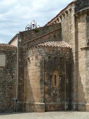 Ancienne abbaye de Fontcaude - English: Fontcaude abbey. Church. South apse.