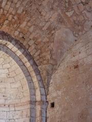 Ancienne abbaye de Fontcaude - English: Fontcaude abbey. Church. Vault of the south apse.