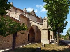 Chapelle Notre-Dame du Peyrou - Français:   Clermont-l\'Hérault, Hérault (France) - Chapelle gothique Notre-Dame du Peyrou (XIVe s.)