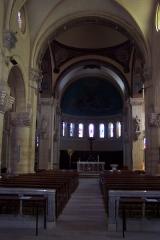 Eglise Saint-Jacques -  Intérieur de l'église