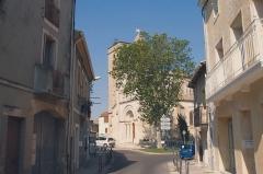 Eglise Saint-Jacques -  Église Saint-Jacques de Fabrègues (Hérault)