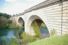Pont sur l'Hérault - English: Gignac Bridge, Gignac, France.