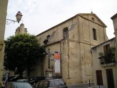 Eglise Saint-Martin - English: In Hérault, France, the church Saint-Martin of Lansargues.