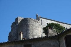 Château - Français:   Laroque - Tour du château.