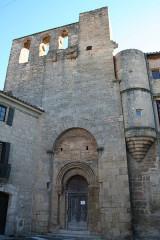 Eglise Saint-Hippolyte - Français:   Loupian  (Hérault) - église castrale Saint-Hyppolite (art roman).