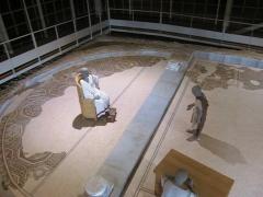 Parcelles contenant les vestiges d'une villa et de mosaïques gallo-romaines - Français:   Loupian (Hérault)