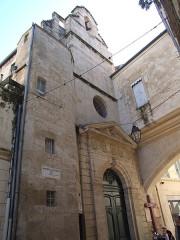 Eglise des Pénitents Blancs - Français:   Chapelle Sainte-Foy, Montpellier, Hérault, FRANCE
