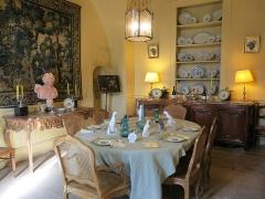 Domaine du château de Flaugergue -  Dining room, Ch Flaugergues