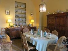Domaine du château de Flaugergue -  Dining room, Ch Flaugergues II