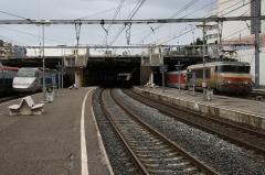 Gare - Deutsch: Gare de Montpellier-Saint-Roch mit Talgo III RD