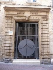 Hôtel de Gayon - Català: Antic hostal dels Carcassonne (Montpeller)