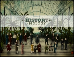 Hôtel Haguenot - English: This is the game art for the educational game History of Biology.