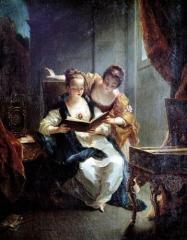 Hôtel des Trésoriers de France (ou hôtel de Lunaret) - French painter and printmaker