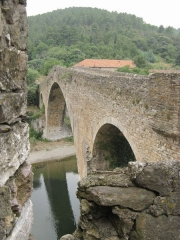 Pont du Diable - English: The 13th century bridge called