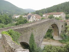 Pont du Diable - English: The old bridge, the