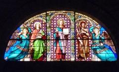 Collégiale Saint-Jean - English: Church Window of Pezenas Church