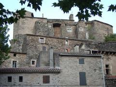 Château - English: Pézènes-les-Mines: Village and Castle