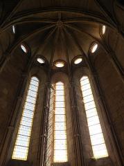 Abbaye de Vignogoul - Triplet de l'abside de l'abbatiale de Vignogoul en Pignan (34).