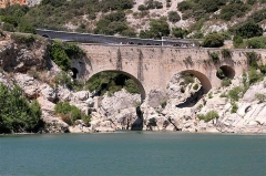 Pont sur l'Hérault, dit Pont du diable - Deutsch: Pont du Diable (Hérault), Hans-Dieter Niepötter, www.niepoetter.de