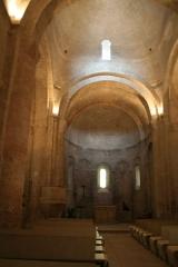 Eglise Saint-Martin - Saint-Martin-de-Londres (Hérault) - Église romane Saint-Martin - nef.