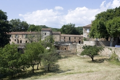 Ancien prieuré Saint-Michel de Grandmont - English:  Farm buildings built after the Revolution to the exploitation of the priory domain.