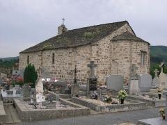 Ancienne église Saint-Etienne-de-Cavall -  La Salvetat-sur-Agout (Hérault) - Chapelle romane St-Étienne de Cavall.