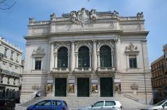 Eglise décanale Saint-Louis - Sète (Hérault) - Théâtre Molière (avant 2013) - Scène Nationale de Sète et du Bassin de Thau. Inauguré le 9 April 1904. Sculptures de la façade de Jean-Antoine Injalbert.