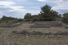Oppidum d'Ambrussum -  Southern neighborhood houses, near the Narbonne gate..