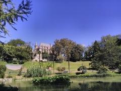 Jardin du Plateau des Poètes - Vue du jardin des poètes