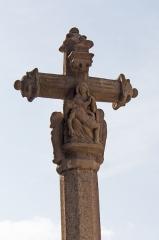 Croix - Français:   Vierge de pitié orante