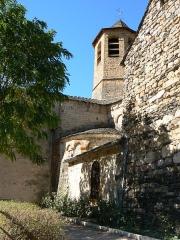 Eglise Saint-Pierre Saint-Paul -  Eglise d'Ispagnac en Lozère (vue de derrière)