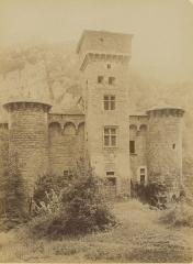 Château de la Caze - Français:   Le château de la Caze