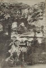 Château de la Caze - Français:   Carte postale du château de La Caze